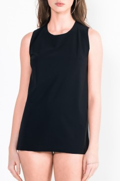 L33 Loose-fit sleeveless top