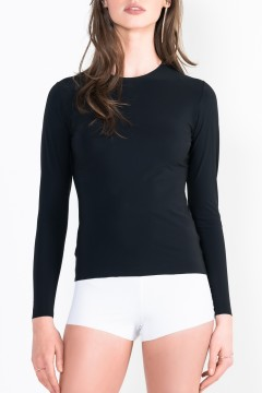 L11 Long-Sleeve Top Crew neck