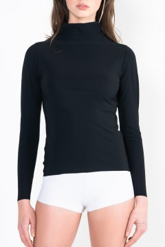 L13 Long-Sleeve top with turtle neck