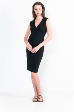 L29 Bis Sleeveless wrap Short Dress
