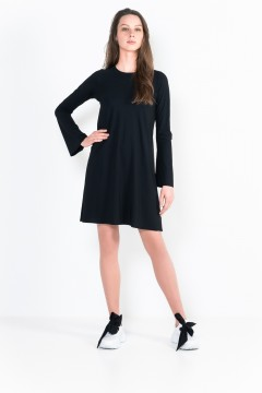 L92 Trumpet dress with long sleeves