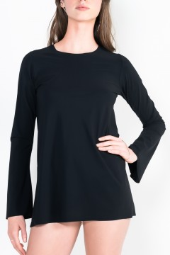 L90 Trumpet tunic with long sleeves