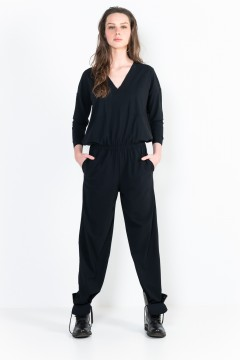 L76 Two pockets shirt jumpsuit