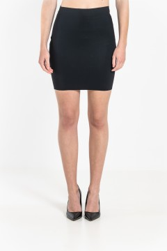 J1 Straight mini skirt
