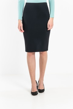 J2 Straight knee-length skirt