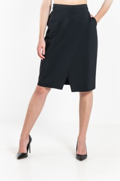 J6 Short Wrap Skirt / Pockets