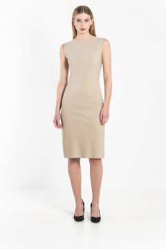 R5C Fitted crew neck dress