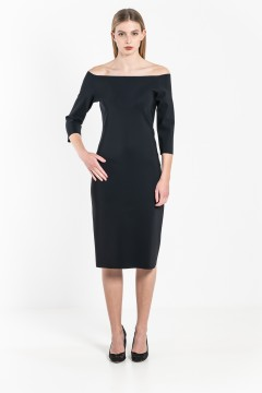 R13 Boat neck dress