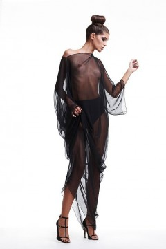 long poncho sleeves
